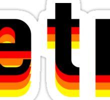 Retro Sticker