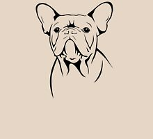 cute french bulldog face Unisex T-Shirt