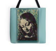 Madonna of the Rocks.   Tote Bag