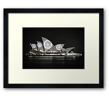 Spotted Opera Framed Print