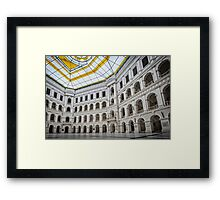 The Arches of Politechnika Framed Print