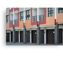 commercial building Canvas Print