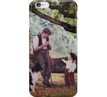 .The shepherd and the child and fairy stories. II iPhone Case/Skin