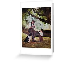 .The shepherd and the child and fairy stories. II Greeting Card