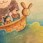 The Pirate Bunny by haidishabrina