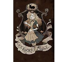 Clockwork Alice Photographic Print