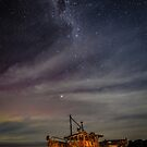 Olivia Shipwreck & Milky Way by Kimball Chen