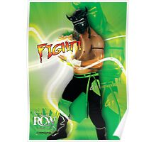 FIGHT - Lucha Riot City Wrestling series Poster