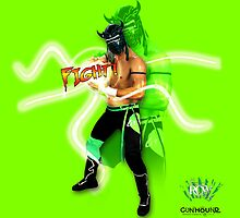 FIGHT - Lucha Riot City Wrestling series by GUNHOUND