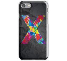 Fun Letter - X iPhone Case/Skin