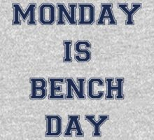Monday is Bench Day! by starsandguitars