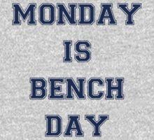 Monday is Bench Day! by starsandguitars