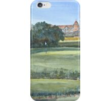 Sussex Golf Course by Edward Scale iPhone Case/Skin