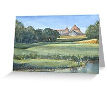 Sussex Golf Course by Edward Scale Greeting Card