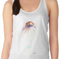 Echinacea watercolor flower Women's Tank Top