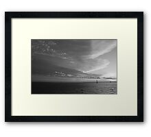 Sunset Heaven Framed Print