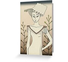 Confident beauty Greeting Card