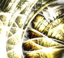 Frailty - Abstract Fractal Artwork Sticker