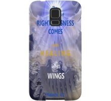 WHOLENESS COMES IN HIS LOVE Samsung Galaxy Case/Skin