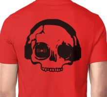 Stenciled Deadphones Clothes and More Unisex T-Shirt