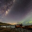 Shipwrecked underneath the Milky Way by Kimball Chen
