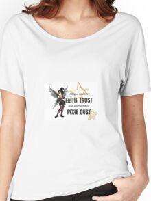 Punk Tinker bell Women's Relaxed Fit T-Shirt