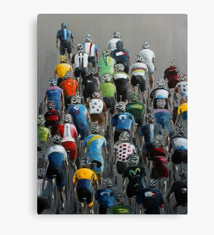 Peleton 2014 Canvas Print