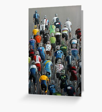 Peleton 2014 Greeting Card