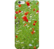 Wildflower meadow iPhone Case/Skin