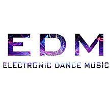 EDM Music Photographic Print