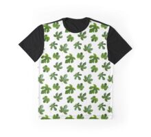 The Leaf Of Fig Tree Graphic T-Shirt