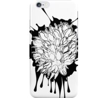 Tulips Grunge Sketch 2 iPhone Case/Skin