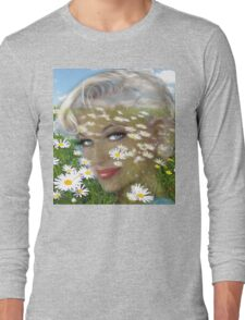 Daisies Hill Smile Long Sleeve T-Shirt