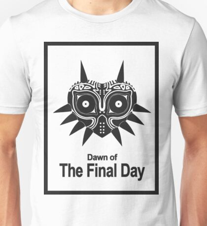 Majora The Final Day Black Version Unisex T-Shirt