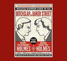 Bitchslap on Baker Street (pillow or bag) by redscharlach