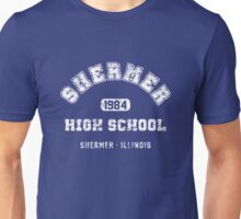 Shermer High school 1984 (worn look) Unisex T-Shirt