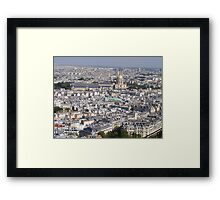 Paris from Eiffel Tower 2 Framed Print