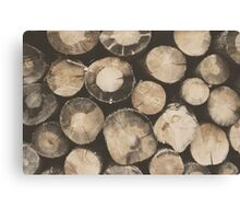 Wood Blocks Canvas Print