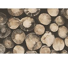 Wood Blocks Photographic Print