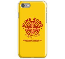 Wing Kong Trading Co. (worn look) iPhone Case/Skin