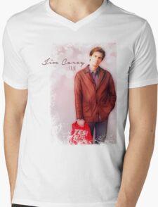 Jim Carrey Fan Mens V-Neck T-Shirt