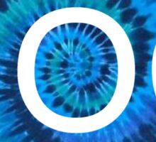 NOC Blue Tie-Dye Sticker