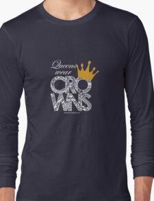 Queens Wear Crowns - BLACK T-Shirt