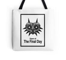 Majora The Final Day Black Version Tote Bag