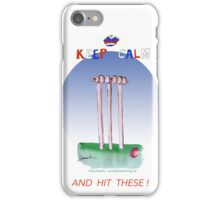 Keep Calm and hit these - tony fernandes iPhone Case/Skin