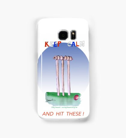 Keep Calm and hit these - tony fernandes Samsung Galaxy Case/Skin