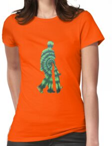 SKATER Green Womens Fitted T-Shirt