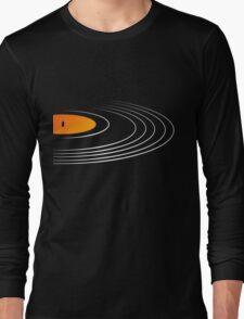 Music Retro Vinyl Record  Long Sleeve T-Shirt