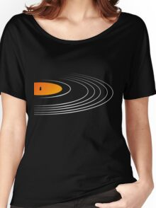 Music Retro Vinyl Record  Women's Relaxed Fit T-Shirt