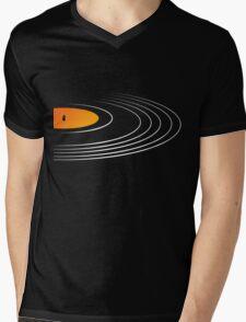 Music Retro Vinyl Record  Mens V-Neck T-Shirt